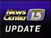 WOKR News Center 13 update card 1987