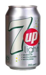 7UP Light LATA Seca