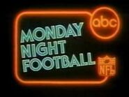 ABC Sports' ABC's NFL Monday Night Football Video Open From 1980