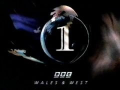 BBC 1 1996 Wales & West