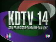 KDTV 14 ID 1992