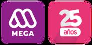 Logo mega 25 años