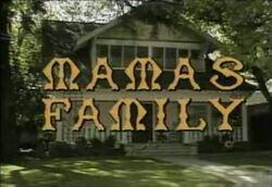 Mamas Family title screen