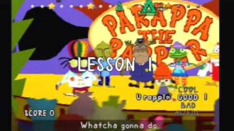 Parappa the Rapper- Stage 6 + Ending