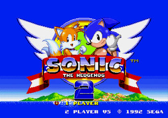 Sonic The Hedgehog 2 Logopedia Fandom