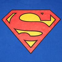 Superman Logo Royal Shirt