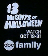 Abc family 13 nights of halloween logo 2015