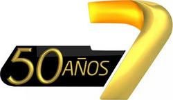 Canal Siete Jujuy (Logo 50º aniversario)