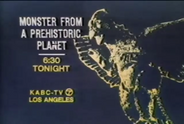 KABC Monster From A Prehistoric Planet Promo Slide 1973