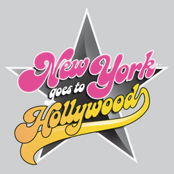 New york goes to hollywood logo