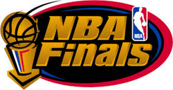 NBA Finals logo 1996 1999