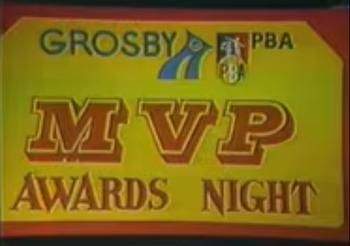 PBA MVP Awards Night logo