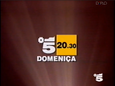 Canale 5 - white and yellow 1994