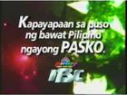 IBC Christmas 2000
