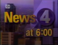 KDFW News 4 Texas 6PM open - 1992