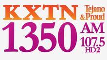 KXTN 1350 July 2019 logo