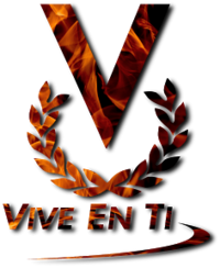 Logo de venevision - vive en ti 2001-2005 - fuego