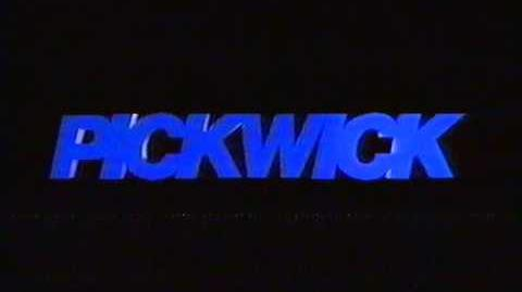 Pickwick Video - Late (1992) VHS UK Logo