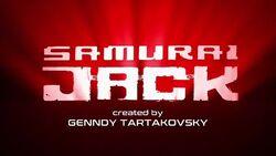 Samurai jack season 5logo