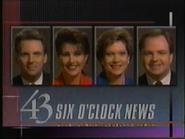 WUAB 43 Six O' Clock News