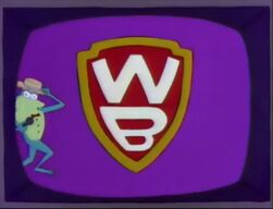 """""""The Warner Brothers Network"""" parody on Fox's The Simpsons"""