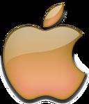 Apple 2001 orange