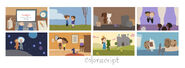 Google Valentine's Day 2012 (Storyboards 3)