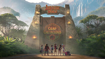 Jurassic World Camp Cretaceous logo