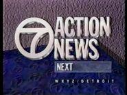 WXYZ 7 Action News open 1989
