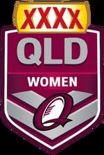 XXXX QRL Women Logo (2015-2016)