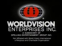 1996-1999 Worldvision logo