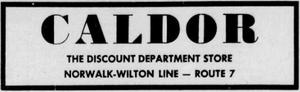Caldor - 1951 -May 4, 1958-