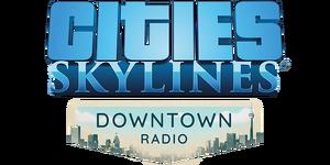 Cities Skylines - Downtown Radio Logo