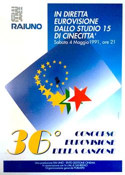 Concorso Eurovisione 1991