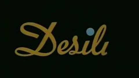 Desilu Merging Circles Logo (1966) With The Paramount Byline