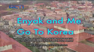 Enyak and me go to korea