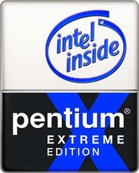 Intel pentium extreme edition | logopedia | fandom powered by wikia.