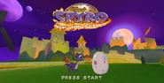 Spyro 3 Title Zoom'd Out