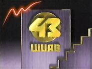 WUAB Channel 43 1988 2