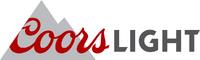 Coors light logo detail