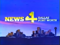 KDFW News 4 Dallas-Fort Worth open - 1980