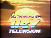 La Mañana en UCV-TV 1991