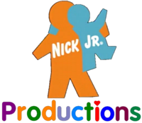 Nick Jr. Productions 1999 Print logo