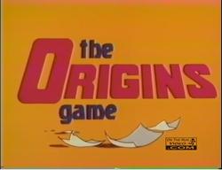 The Origins Game