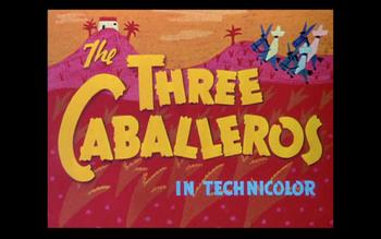 The Three Caballeros Logo 1944