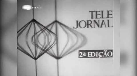 Evolução dos genéricos de Telejornal RTP1 1959 - 2018