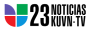 KUVN Noticias23 1990