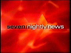 Seven Nightly News 2000 blank