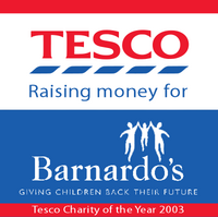Tesco Charity of the Year 2003