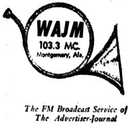 WAJM Montgomery 1961